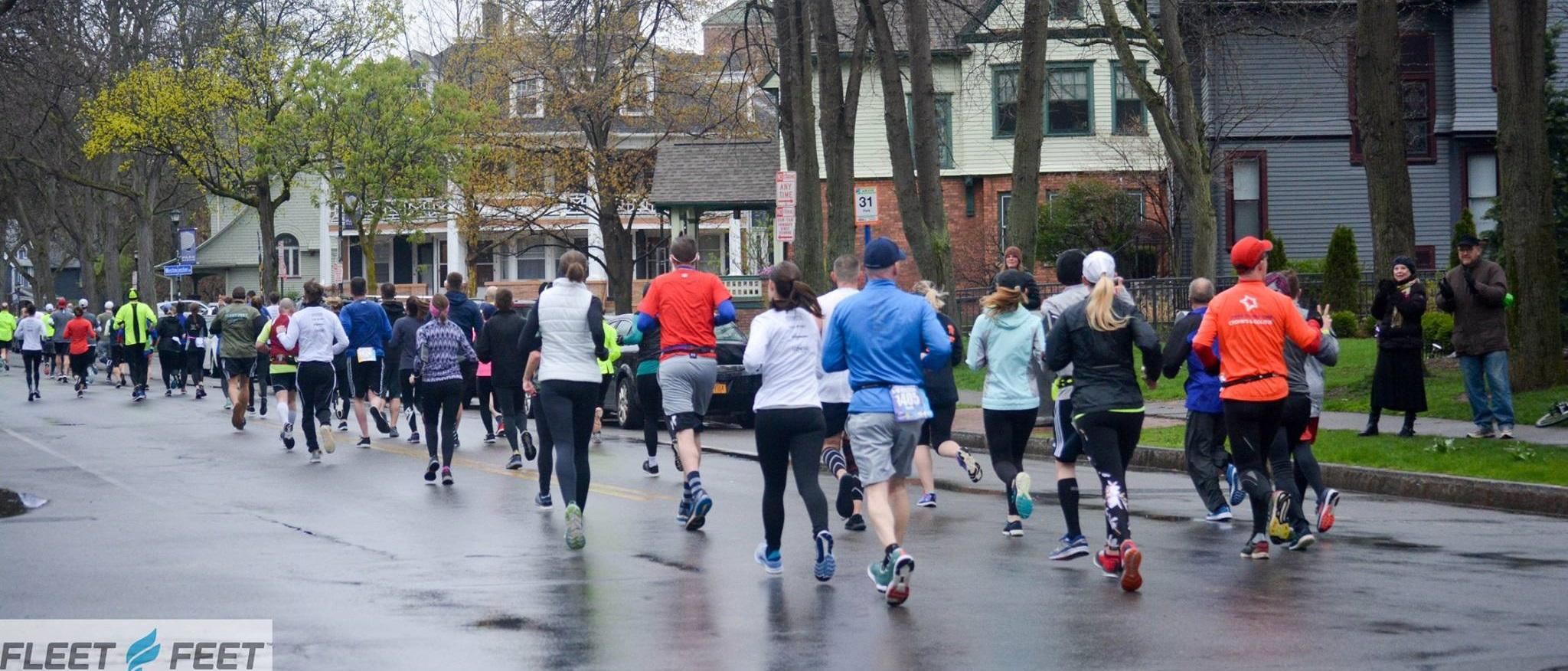 Running down Park Ave